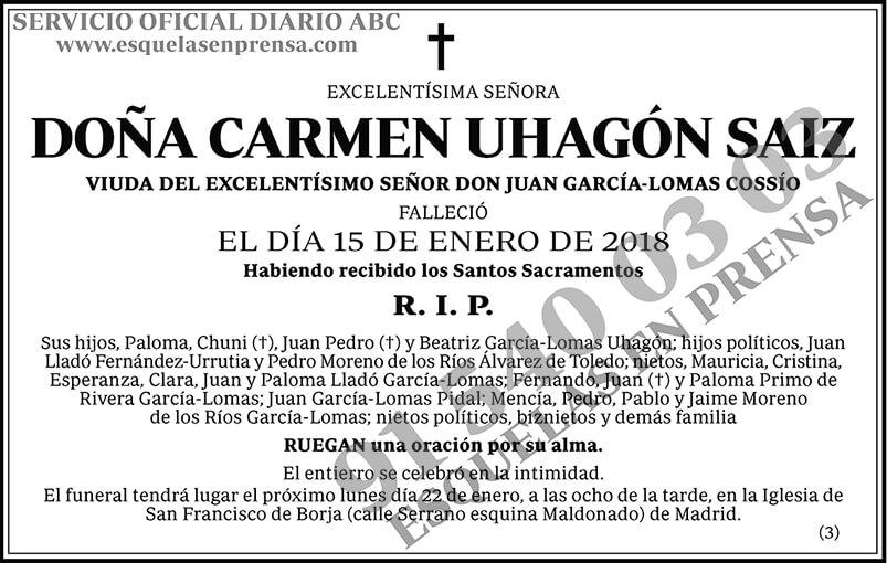 Carmen Uhagón Saiz